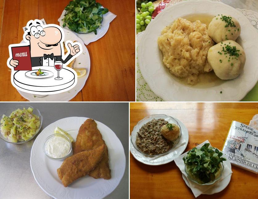 Meals at Heurigen Kernbichler
