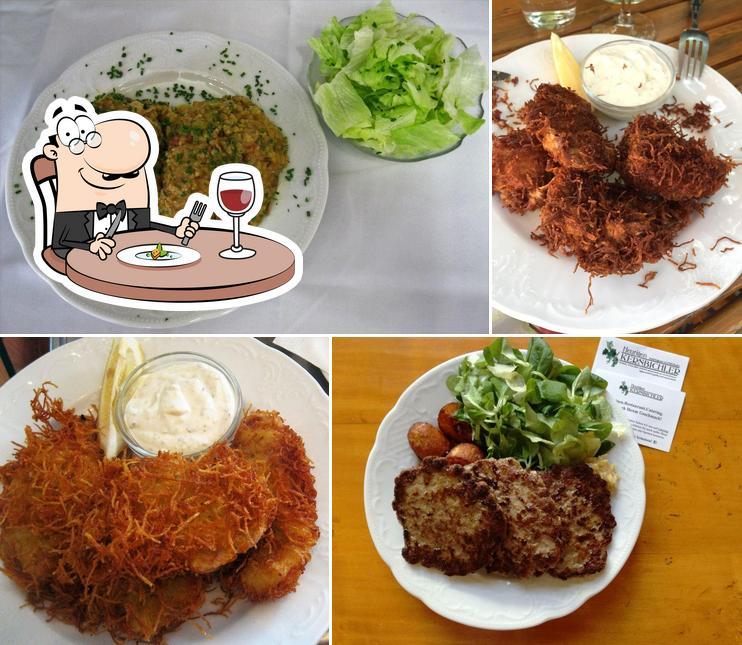 Food at Heurigen Kernbichler