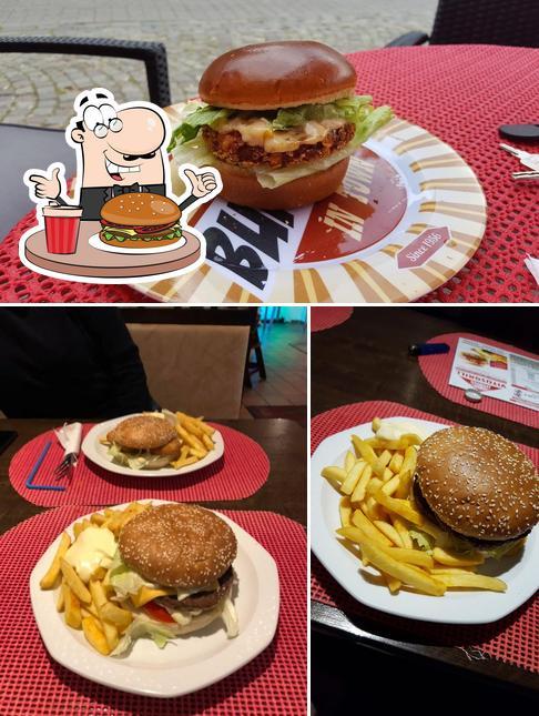 Pide una hamburguesa en Vitusgrill