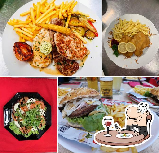 Essen im Alpenrestaurant Ried