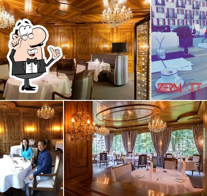 The interior of Alpine Gourmet Prato Borni
