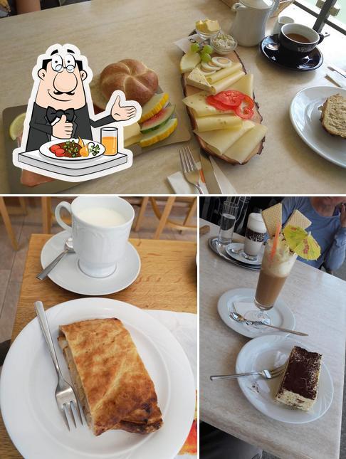 Essen im Bäckerei Brunner