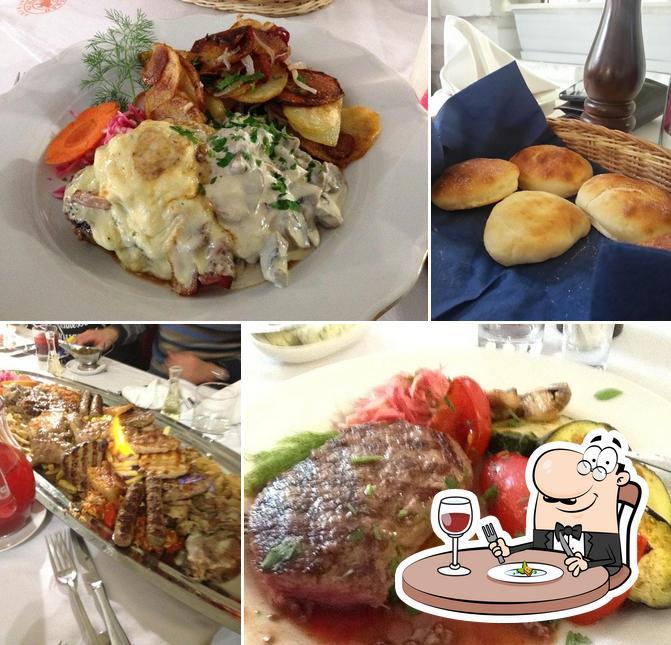Comida en Balkan Gril'