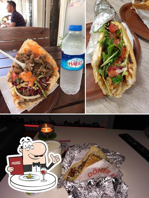 Food at Burger Kebap