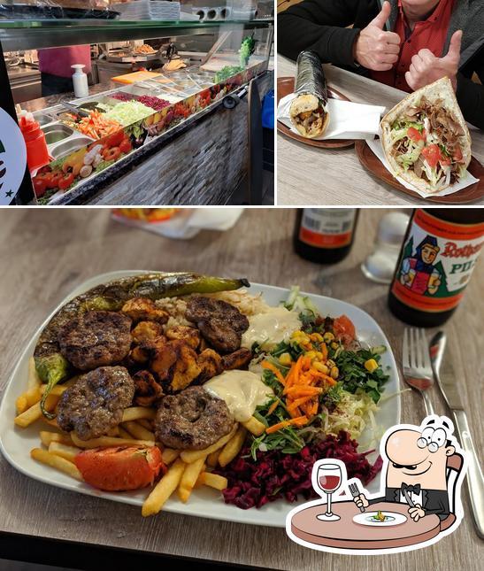 Meals at Burger Kebap