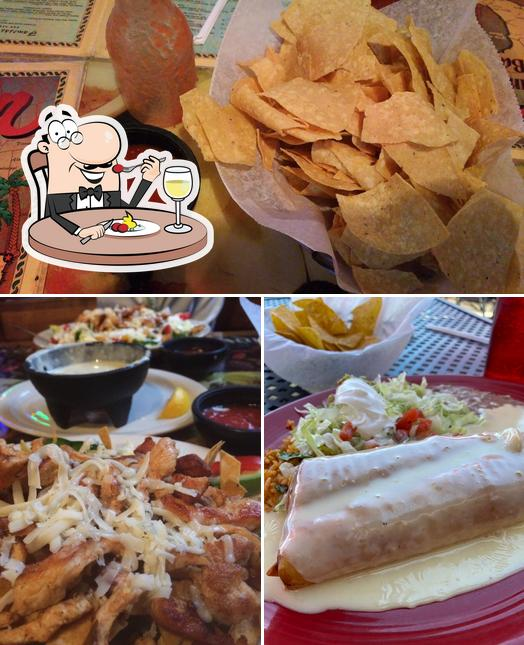 Food at Cancun Mexican