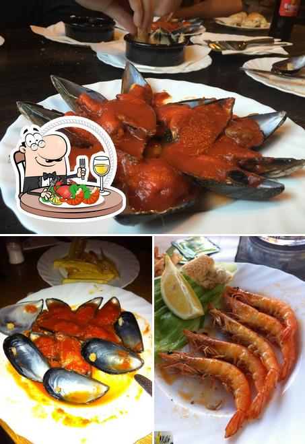 Bestellt Meeresfrüchte bei Cedo