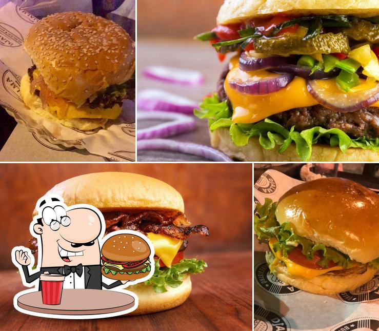 Consiga um hambúrguer no Djalma Burger Bistrô