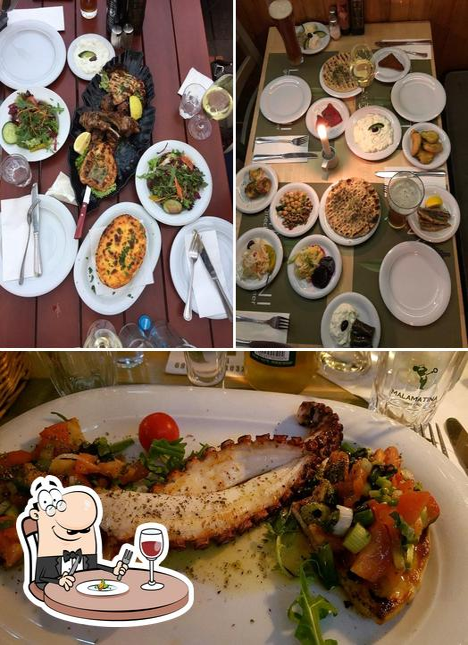 Food at Taverna Limani