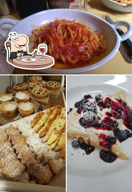 Food at Locanda di Casal Mustia