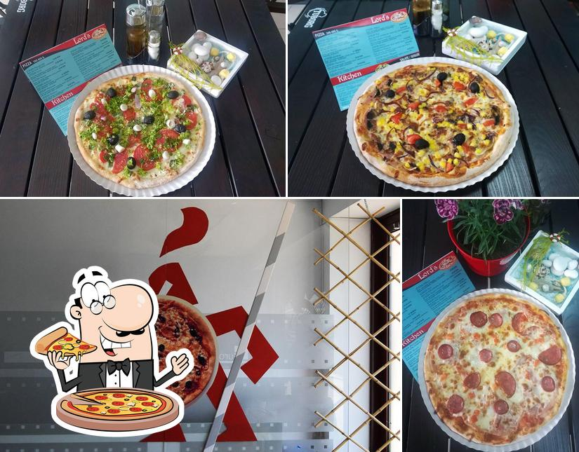 Try out pizza at Lord's Kitchen