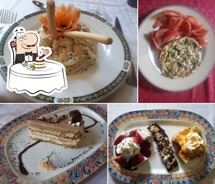 Mesón Alvaluz te ofrece una buena selección de dulces