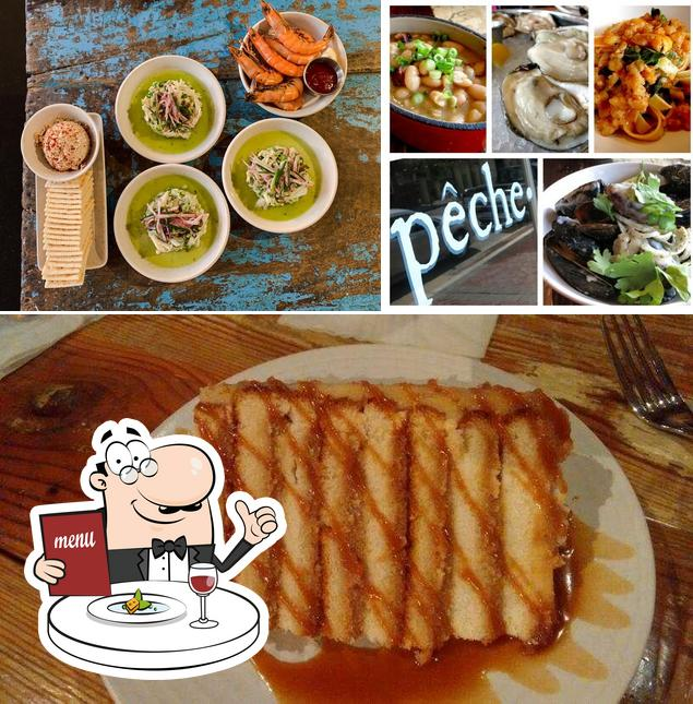 Meals at Peche