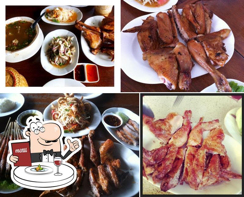 Food at Praram 9 Kaiyang