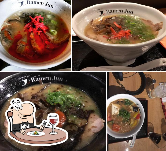 Essen im Ramen Jun