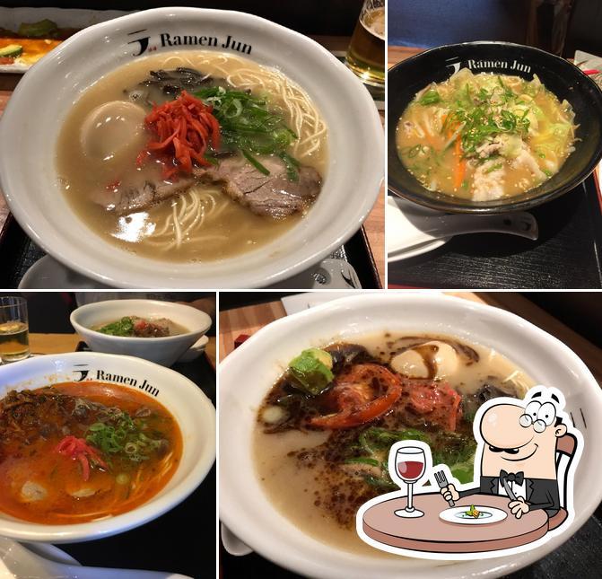 Gerichte im Ramen Jun