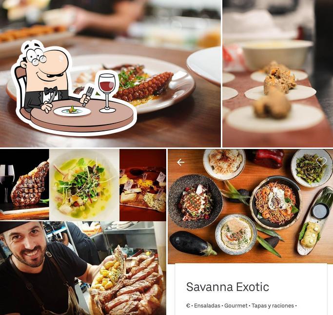 Food at Savanna