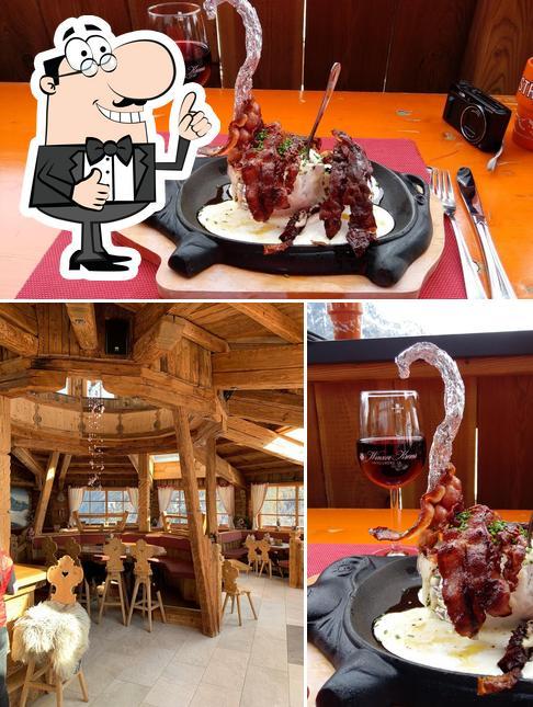 Foto von Skirestaurant Bergzauber