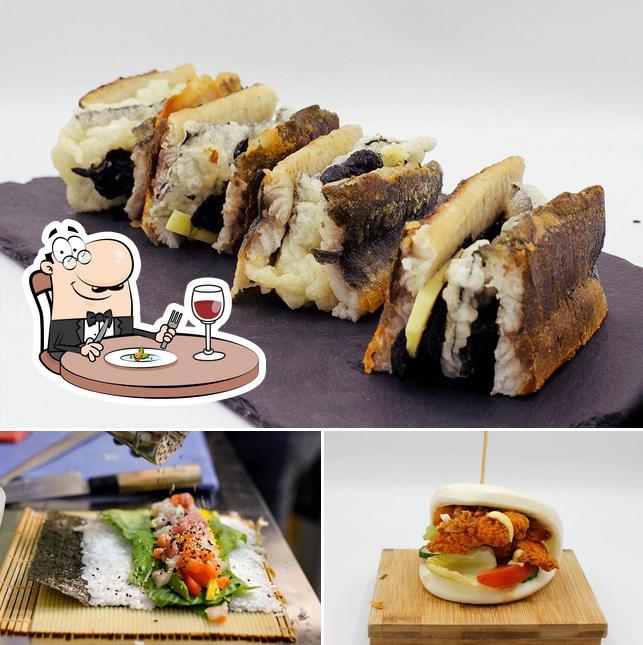 Meals at Sushi MC