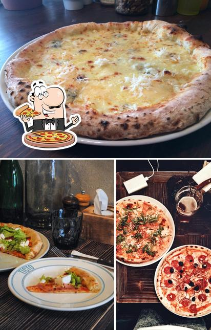 Try out pizza at Tisto