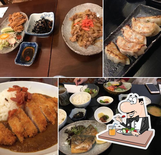 Блюда в Tomoe