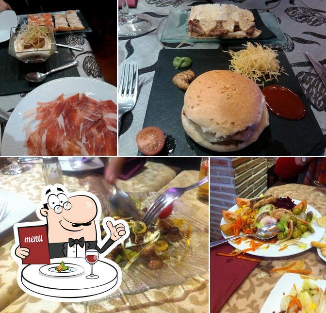 Comida en Vidi Gastrobar
