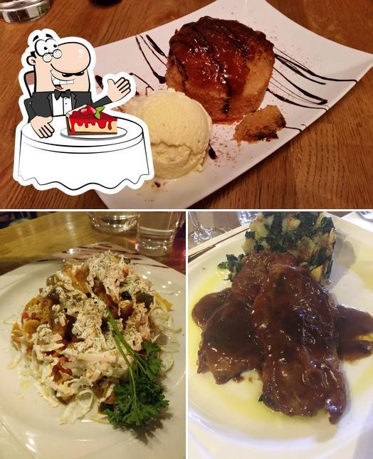 artigiani del Cibo provides a range of desserts
