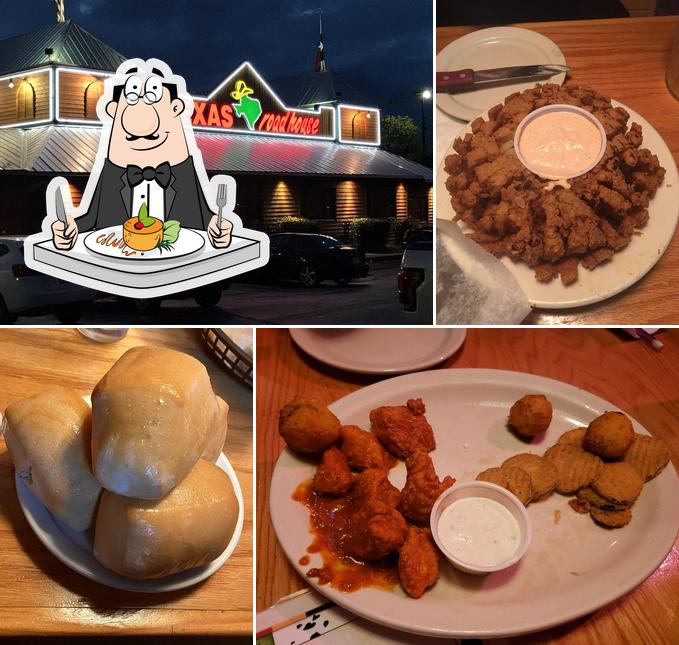 Food at Texas Roadhouse