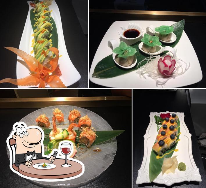 Platos en Brunati Sushi Restaurant