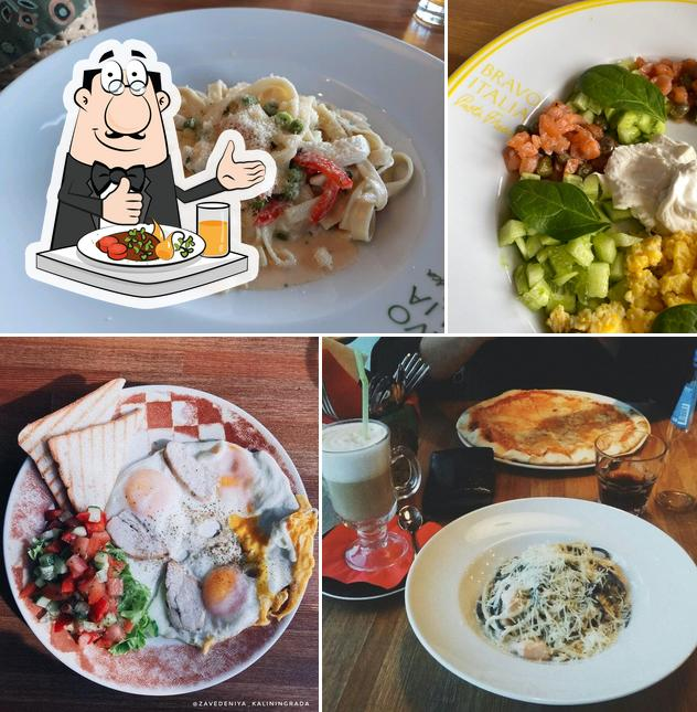Блюда в Браво Италия