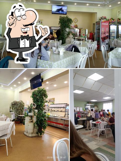 The interior of Dom Chaya