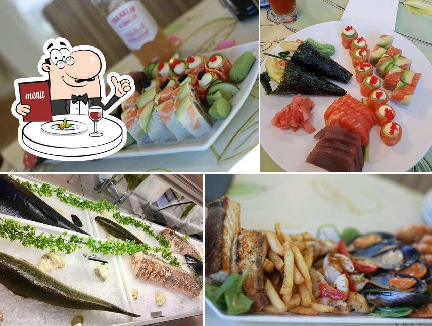 Meals at La Marina