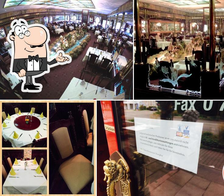 El interior de China-Restaurant Shanghai