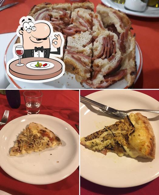 Comida em Armazém da Pizza