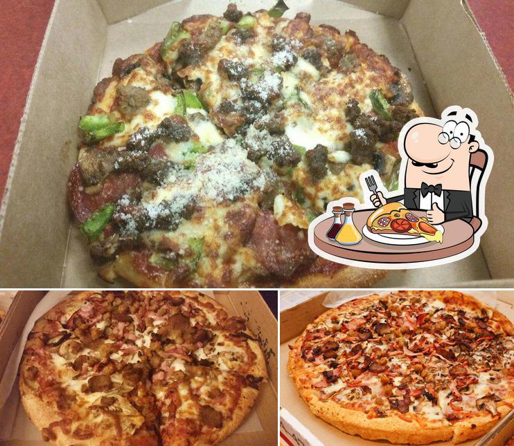 Get pizza at Paulo's Pizza Ltd