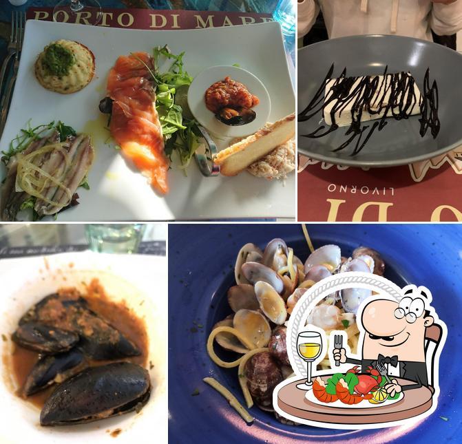 Prenditi la cucina di mare a Porto di mare