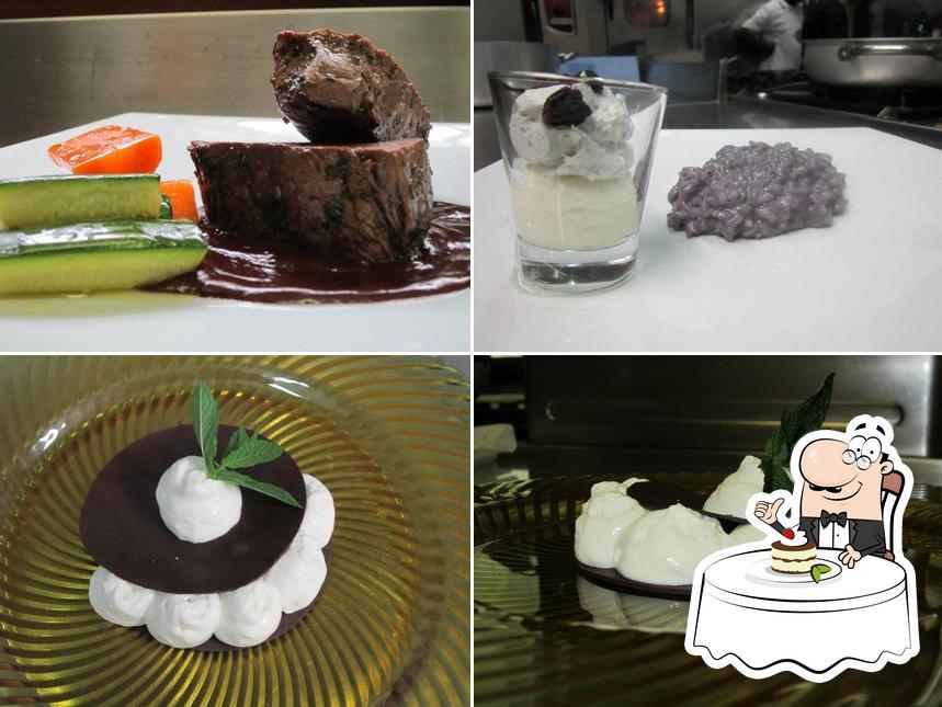 Taverna Coppapan bietet eine Auswahl von Süßspeisen