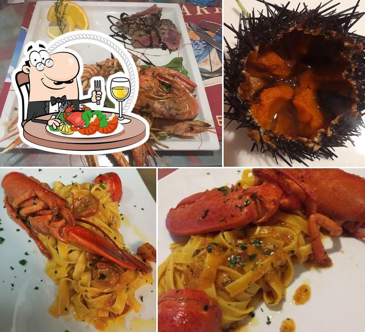 Scegli tra i molti pasti di mare proposti a Porto di mare