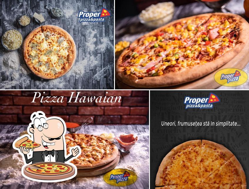 Elige entre diferentes formatos de pizza