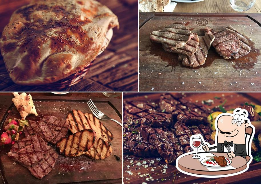 Get meat meals at Chef