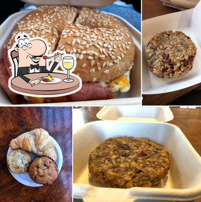 Food at Granola's Coffee House