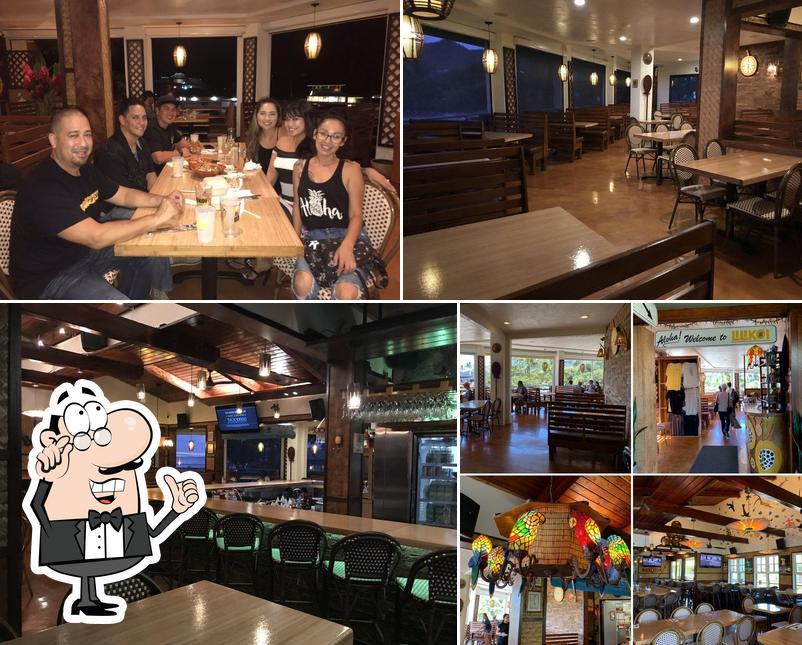 El interior de Lilikoi Bar and Grill