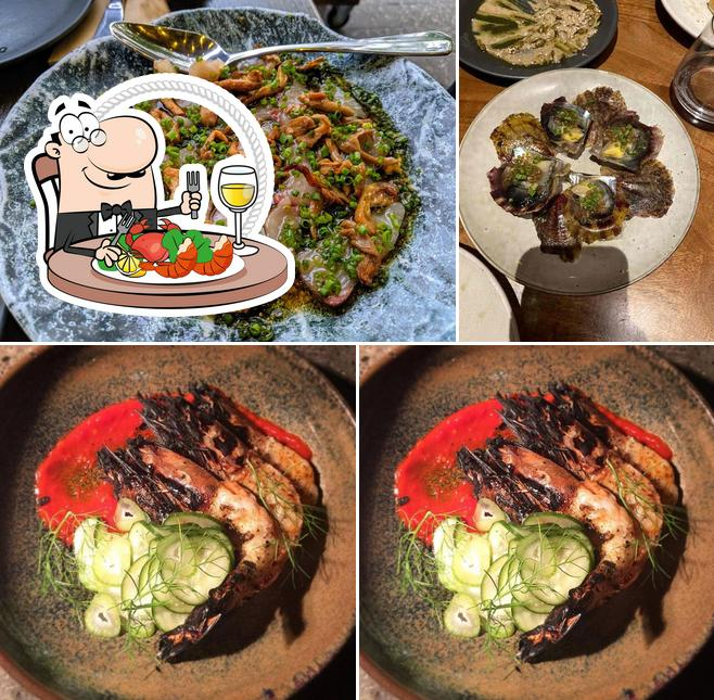 Get seafood at Manuka Woodfire Kitchen