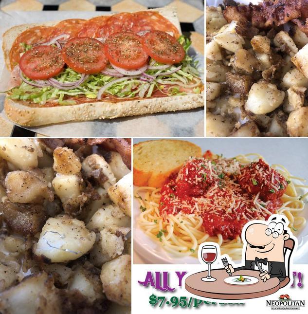 Meals at Neopolitan Deli
