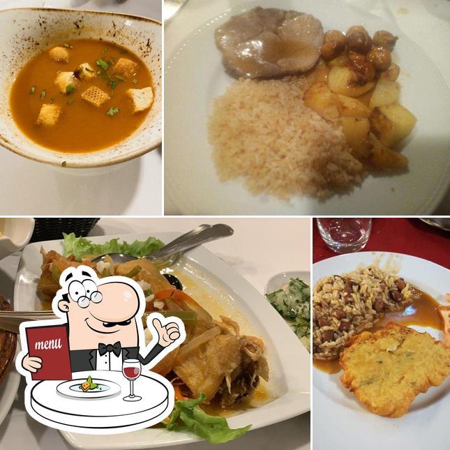 Еда в Abadia do Porto