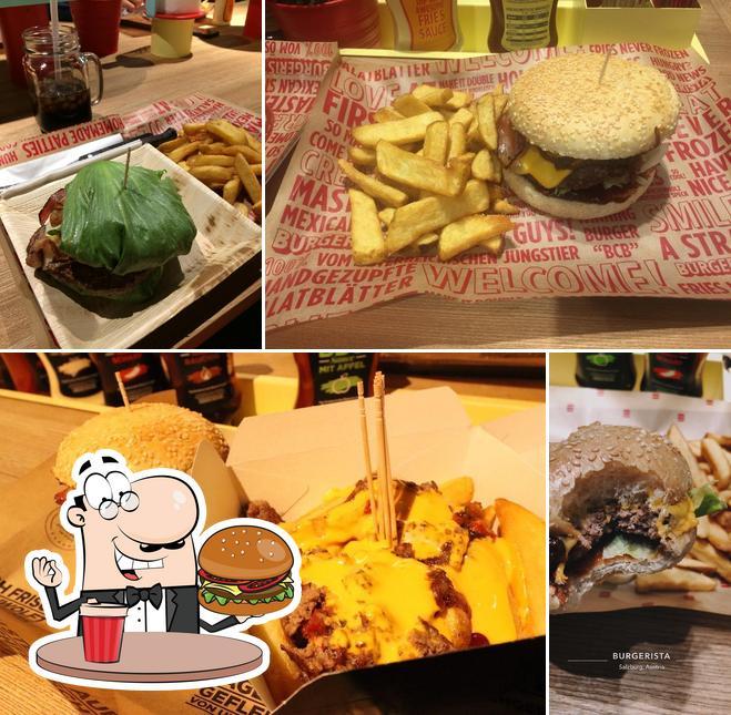 Order a burger at BURGERISTA