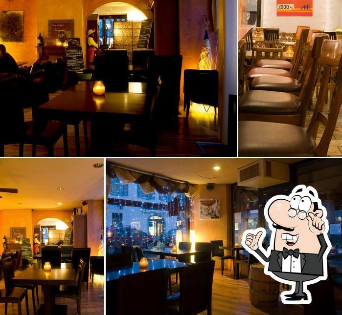 The interior of Bagdad Café