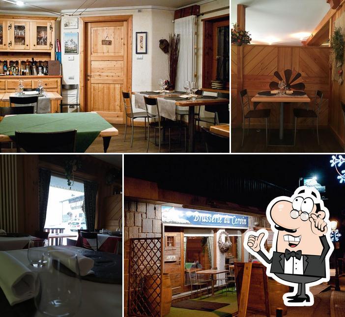 Gli interni di Brasserie Du Cervin