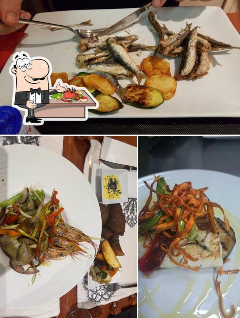 Prueba marisco en Restaurant Caliu