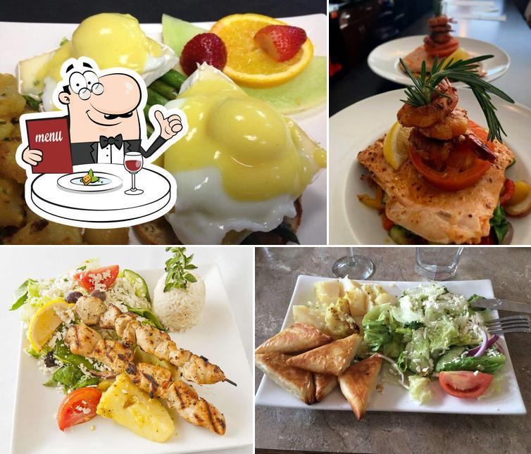 Meals at Cusina Mediterranean Bistro